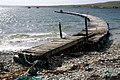 Temporary pier at Uyeasound - geograph.org.uk - 779332.jpg