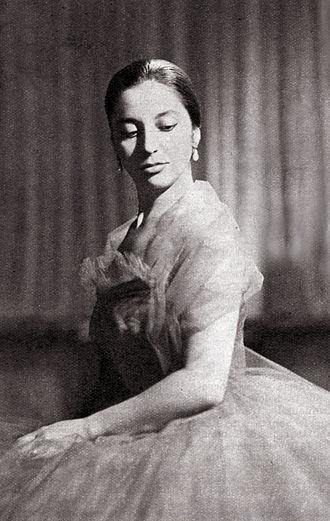 Teresa Berganza - Berganza in 1957
