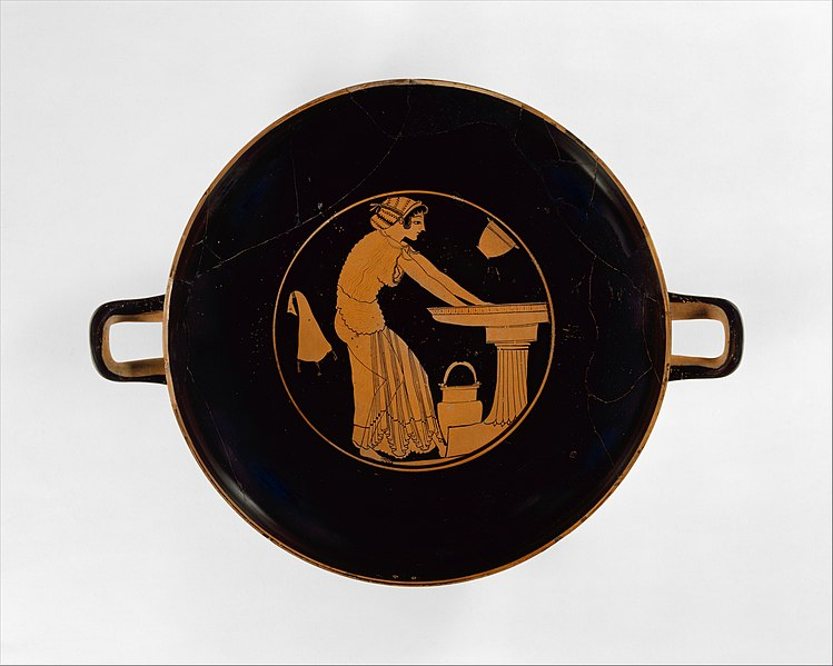 Fileterracotta Kylix Drinking Cup Met Dt5480g Wikimedia Commons