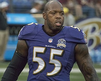 Terrell Suggs - Suggs with the Baltimore Ravens in 2015