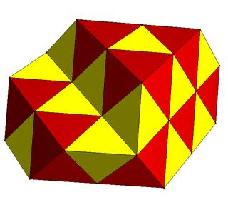 Convex uniform honeycomb