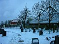 Texel - Den Hoorn - Kerkhof Hoornder Kerkje - View SE in Winter.jpg