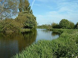 Shiplake Lock - The River Thames near Sonning