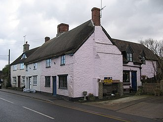 Stalbridge - Thatched cottage at Stalbridge