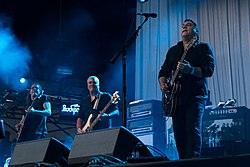 The Afghan Whigs am Haldern Pop Festival (2017).