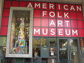 Image illustrative de l'article American Folk Art Museum