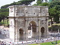The Arch of Constantine, Roman Forum, Rome.jpg