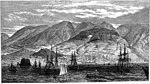 The Bay and Town of Funchal, Madeira, ILN 1874.jpg