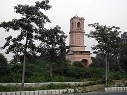 Glockenturm der Cantonment Church