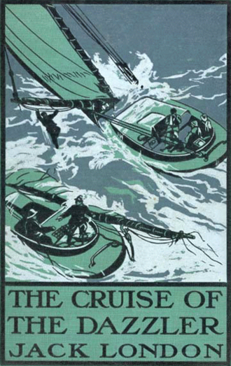First edition (1902) The Cruise of the Dazzler book cover.png
