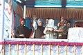 The Director General, Assam Riffle, Lt. Gen. Shri Bhupender Singh handing over the keys of Kangla Fort to Manipur Chief Minister Shri O. Ibobi Singh in the presence of the Prime Minister.jpg