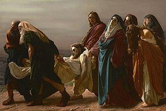 Antonio Ciseri - Image: The Entombment by Antonio Ciseri