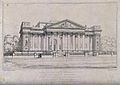 The Fitzwilliam Museum, Cambridge. Etching by T. Kearnan aft Wellcome V0012330.jpg