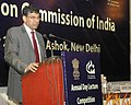 "The Governor, Reserve Bank of India, Dr. Raghuram Rajan delivering the Annual Day Lecture on ""Banking Structure in India Possibilities and Challenges"", on the occasion of the Annual Day of Competition Commission of India.jpg"
