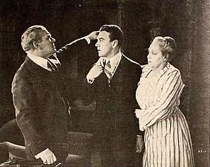 Lillian Langdon - Andrew Robson, Tom Moore, and Lillian Langdon in The Great Accident (1920)