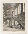 The Hall and Stair Case, British Museum (Microcosm of London, plate 14) MET DP873991.jpg