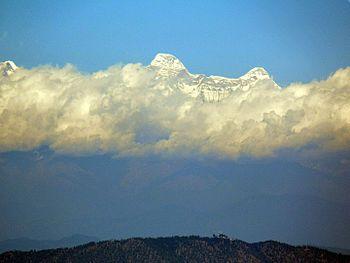 The Himalayas from Nainital.jpg