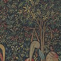 The Hunters Enter the Woods (from the Unicorn Tapestries) MET DP101010.jpg