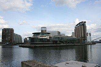 The Lowry - The Lowry's waterfront setting