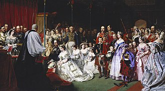 Victoria, Princess Royal - Victoria's wedding by John Phillip