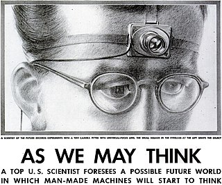 As We May Think influential 1945 essay anticipating information society