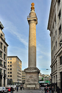 Monument to the Great Fire of London monument in London, United Kingdom