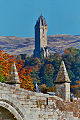 The National Wallace Monument viewed from Stirling bridge in Autumn, (via telephoto lens).jpg