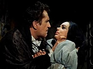 The Pit and the Pendulum (1961 film) - Vincent Price and Barbara Steele