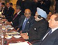 The Prime Minister, Dr Manmohan Singh at the G-20 Working Dinner, at Toronto, in Canada on June 26, 2010.jpg