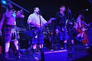 The Real McKenzies - Image: The Real Mckenzies Concierto en sala López 04 01 2012
