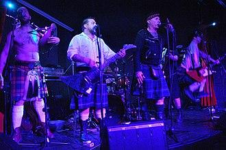 The Real McKenzies - Image: The Real Mckenzies Concierto en sala López 04 01 2012