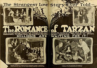 <i>The Romance of Tarzan</i> 1918 film by Wilfred Lucas