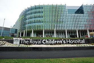 Royal Children's Hospital - Image: The Royal Children's Hospital, Melbourne