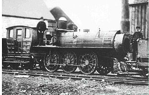 Peter Crerar - The Samson locomotive on the Albion Mines Railway