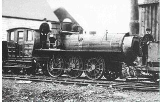 Samson (locomotive) English-built railroad steam locomotive