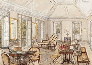The Spot drawing room. 30th June 1854