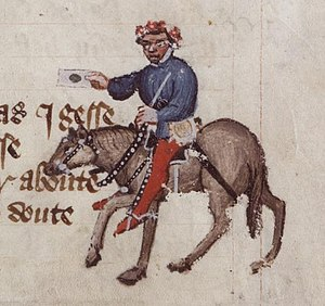 The Summoner's Tale - The Summoner from the Ellesmere Manuscript of Chaucer's The Canterbury Tales
