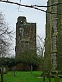 The Tower of the now ruined Hamstall Hall - geograph.org.uk - 1162059.jpg