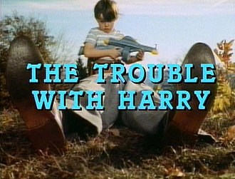 The Trouble with Harry - The title shot in the film trailer shows the discovery of Harry by Arnie (Jerry Mathers).