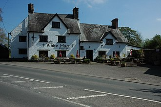 Llangybi, Monmouthshire - The White Hart