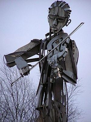 Irish fiddle - The Fiddler, Strabane