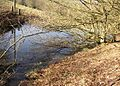 The lower reservoir, Tong Royd, Elland - geograph.org.uk - 689303.jpg