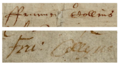 "The name ""Francis Collyns"" taken from Shakespeare's will.png"