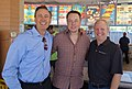 The obligatory Dairy Queen stop at the SpaceX McGregor Texas test facility with Elon Musk and my partner Randy Glein today (14819248900).jpg