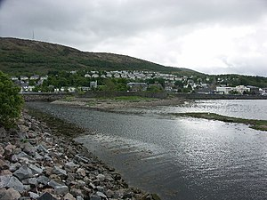 Siege of Fort William - Image: The old fort at Fort William geograph.org.uk 13420