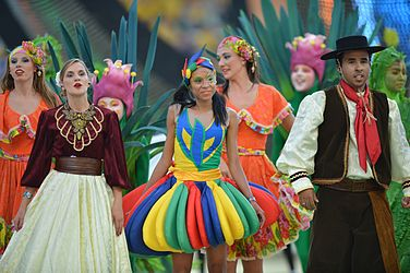 The opening ceremony of the FIFA World Cup 2014 14.jpg