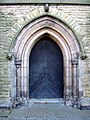 The west door of Christ Church, Crewe - geograph.org.uk - 1546834.jpg