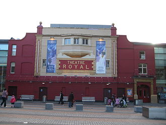 Theatre Royal Stratford East - The exterior of the Theatre Royal Stratford East