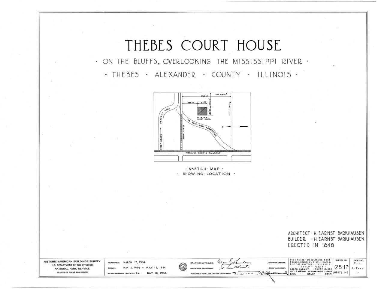 File Thebes Courthouse Thebes Alexander County Il Habs