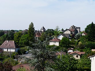 Thenon - Image: Thenon bourg (1)